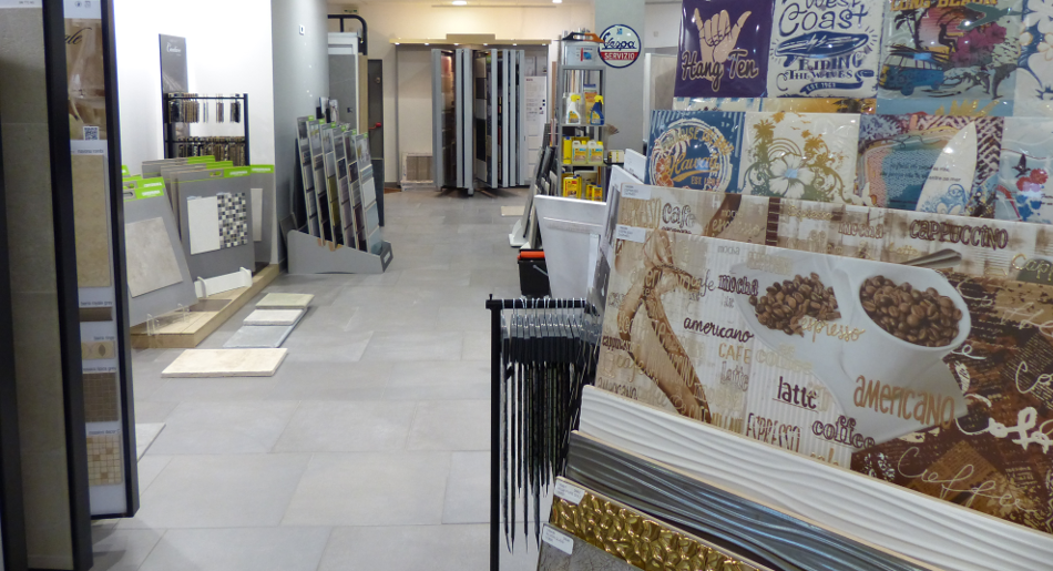 Le showRoom des Carrelages de Marseille